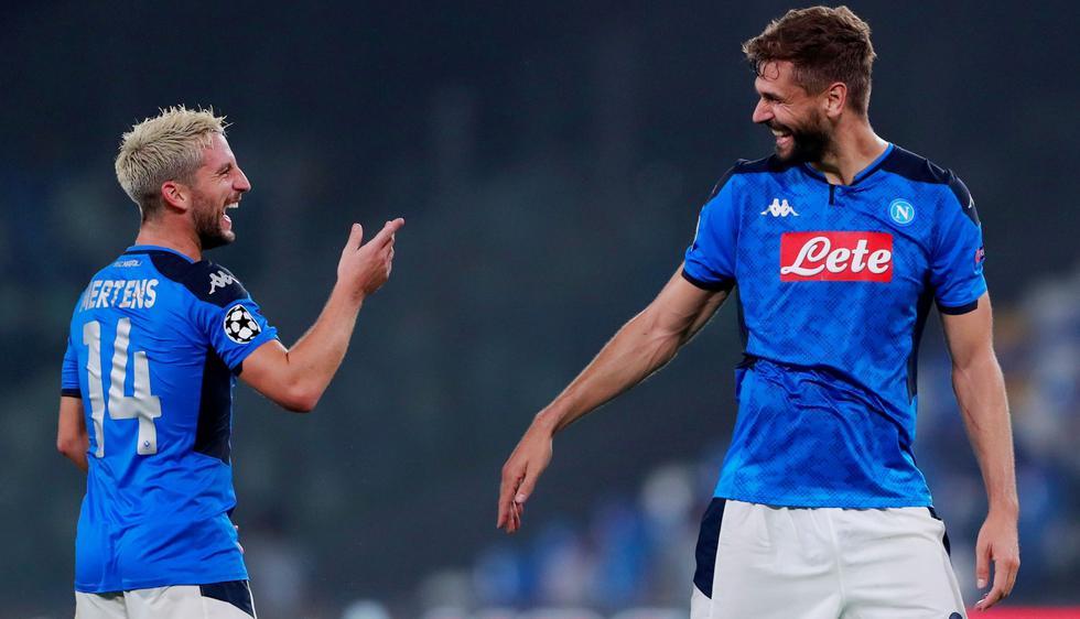 Napoli derrotó 2-0 a Liverpool en San Paolo con tantos de Mertens y Llorente por Champions League   VIDEO. (Foto: AFP)