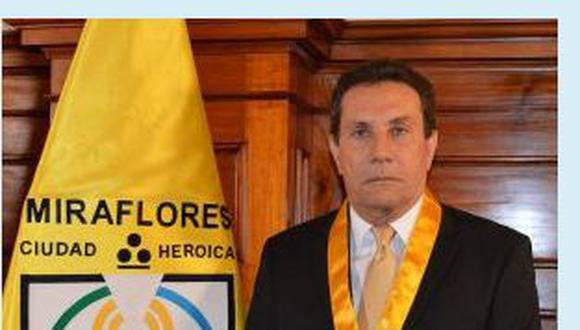 Es teniendo alcalde de Miraflores