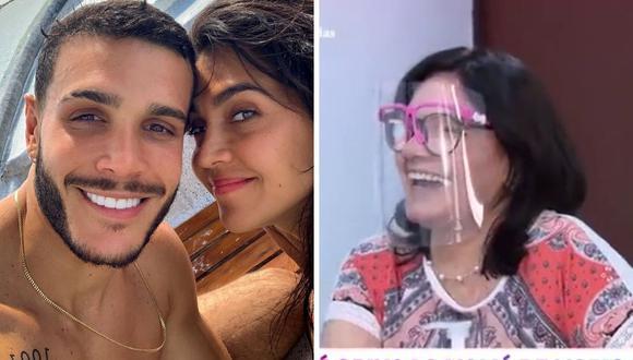 Mario Irivarren y Vania Bludau hicieron pública su relación hace unas semanas tras un viaje a Miami. (Foto: Instagram / marioirivarren / Captura América TV).