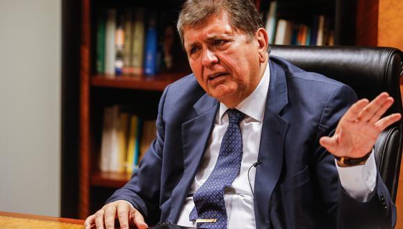 El expresidente Alan García se suicidó el 17 de abril del año pasado, cuando agentes de la Policía acudieron a su domicilio para ejecutar una orden de detención preliminar por el Caso Odebrecht. (Foto: Piero Vargas /  GEC)