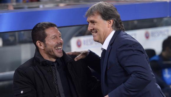 Simeone vs. Martino: un duelo que solo sabe de empates