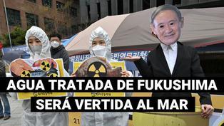 Japón toma la decisión de verter al mar agua tratada de la central nuclear de Fukushima en 2023