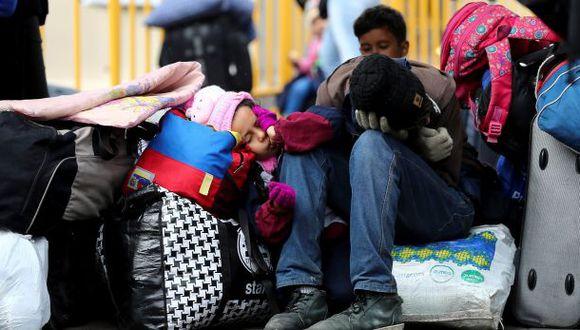 El subsecretario del Interior reconoció que los flujos migratorios significativos pueden transformarse en factores de crisis para los países que los reciben. (Foto referencial: EFE)
