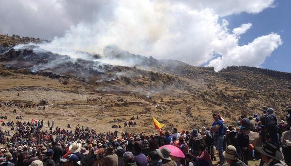 Declaran estado de emergencia por violencia en Las Bambas