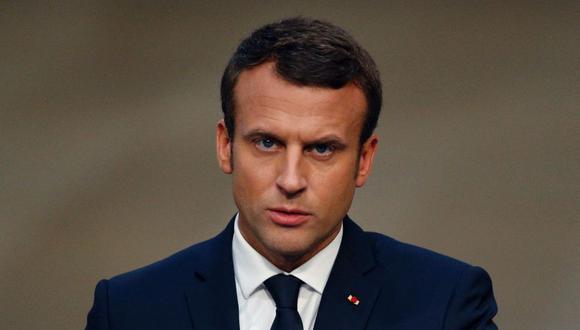 El presidente de Francia, Emmanuel Macron. (Foto: AFP)
