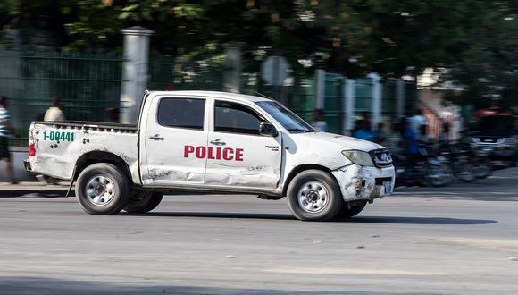 """La policía sospecha que una banda armada activa en la zona, conocida como """"400 Mawozo"""", está detrás del secuestro, según una fuente policial. (Foto: Valerie Baeriswyl / AFP)"""