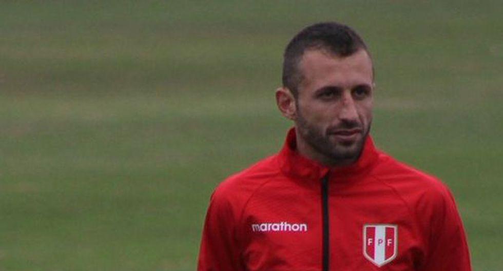 Horacio Calcaterra se unió por primera vez a los trabajos de la selección peruana luego de salir campeón del Apertura con Sporting Cristal. (Foto: Difusión)