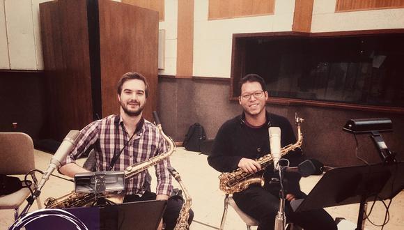Lorenzo Ferrero y Anibal Seminario son los fundadores de Afro-Peruvian Jazz Orchestra. Ambos se conocieron desde los 14 años cuando tocaban en la Sinfónica Nacional.