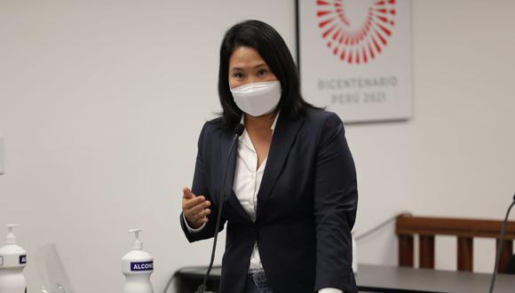 Fujimori es acusada de lavado de activos y otros delitos, por los que se pidió más de 30 años de prisión. (Foto: Poder Judicial)