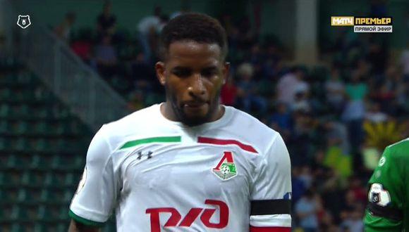 Jefferson Farfán participa en el primer gol del Lokomotiv Moscú. (Video: GolTV)