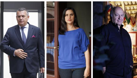 Daniel Urresti tiene el 7% de intención de voto de cara las elecciones de abril. Verónika Mendoza, 5%; y Hernando de Soto, 3%, de acuerdo a la última encuesta de El Comercio-Ipsos. (Foto: GEC)