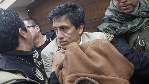 Antonio Camayo y otros diez miembros de Los Cuellos Blancos del Puerto permanecerán detenidos con una orden de prisión preventiva por 36 meses. (Foto: USI)