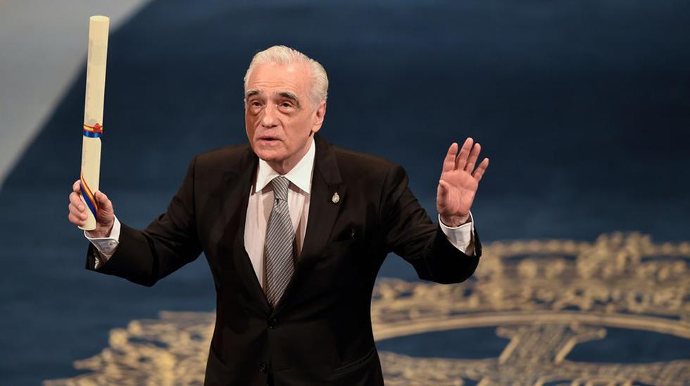 Martin Scorsese en la entrega del Premio Princesa de Asturias de las Artes 2018 en  el Teatro Campoamor de Oviedo. (Foto: Agencias)