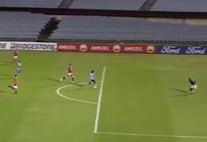Sporting Cristal vs. Rentistas: Corozo falló increíble ocasión de gol y se perdió el 1-0   VIDEO
