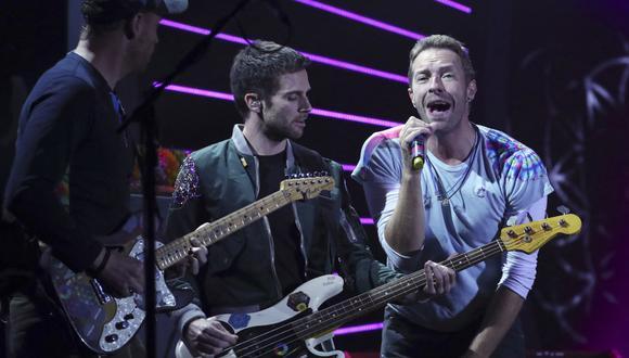 """Coldplay estrena su single """"Higher Power"""" en la Estación Espacial Internacional. (Foto: AFP)"""