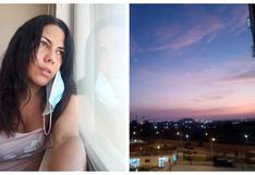 """""""Si tienes miedo, pierdes"""": el drama de una periodista que enfrentó al COVID-19 desde la Villa Panamericana"""