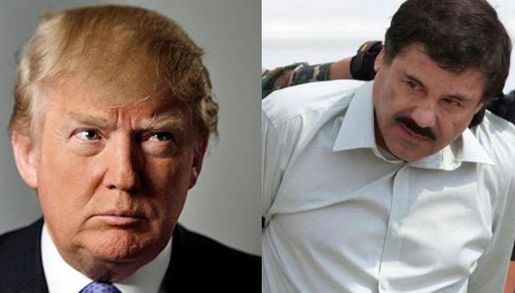 Trump denuncia ante el FBI amenazas de 'El Chapo' en Twitter