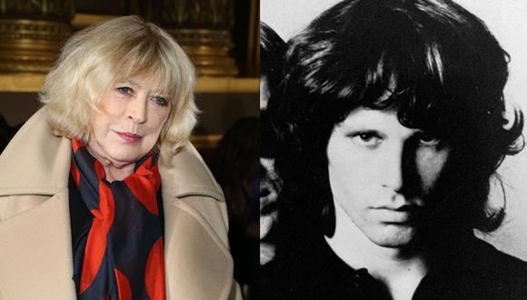 "Marianne Faithfull dice que ex novio ""mató"" a Jim Morrison"