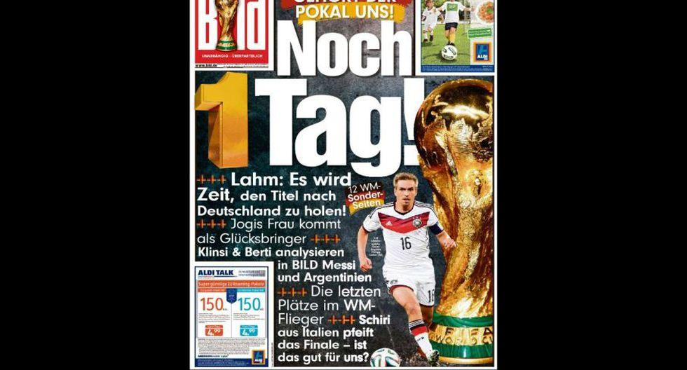 Final Copa del Mundo: así informan las portadas en el mundo - 19