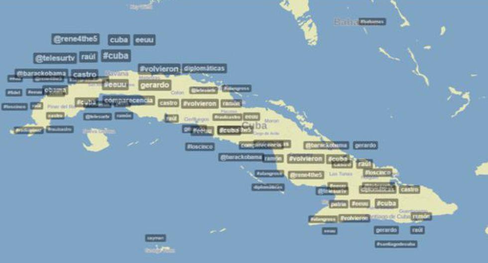 Twitter: EE.UU. y Cuba se ponen de acuerdo en redes sociales