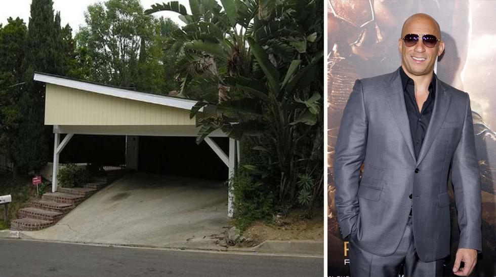 ¿Casita simple? La primera casa de Vin Diesel en Hollywood - 1