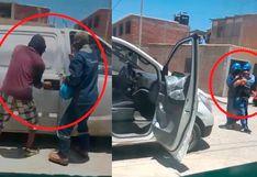 Piura: delincuentes usan como escudos humanos a tres trabajadores para fugar de Policía tras frustrado asalto