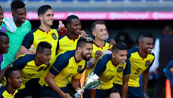 La selección de Ecuador se llevó el amistoso FIFA ante Bolivia | Foto: AFP