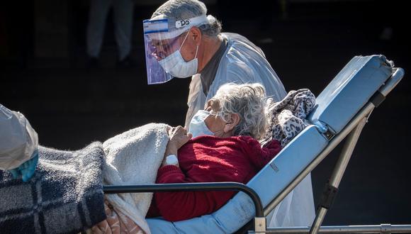 Coronavirus en Chile   Ultimas noticias   Último minuto: reporte de infectados y muertos   martes 19 de mayo del 2020   Covid-19. (Foto: AFP / MARTIN BERNETTI).