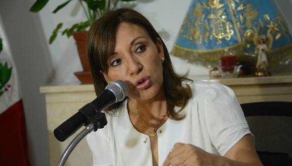Julia Príncipe abandona su candidatura al Parlamento por Avanza País. (Foto: GEC)
