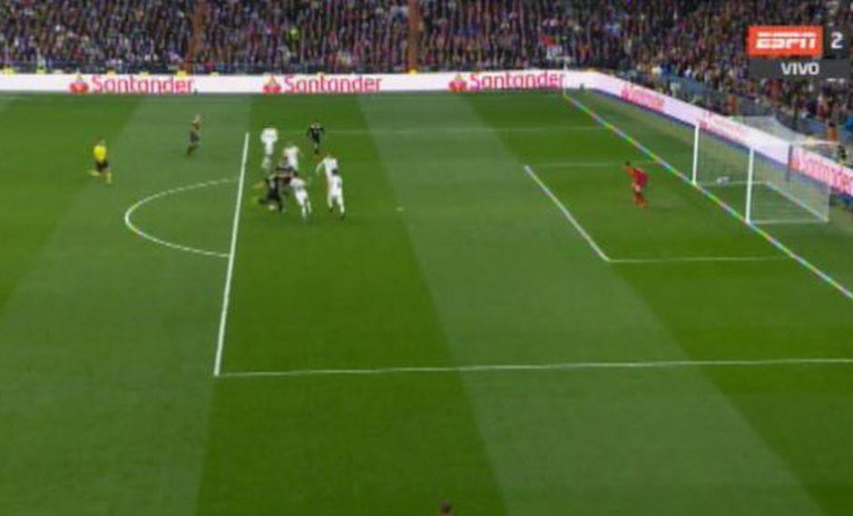 Real Madrid vs. Ajax: Tadic marcó el 3-0 en una jugada polémica en la que intervino el VAR. (Foto: captura)