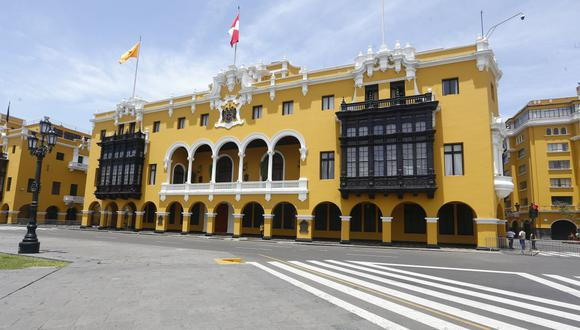 Municipalidad Metropolitana de Lima. (Foto: GEC)