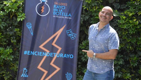 "Ricardo Morán confirma que se contagió de COVID-19: ""La he pasado mal, he estado enfermo"". (Foto: Mario Panta/GEC)"