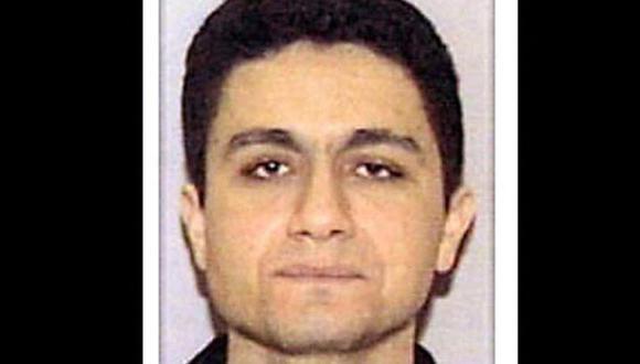 Esta fotografía sin fecha publicada el 27 de septiembre de 2001 por el Departamento de Justicia de EE.UU. muestra al presunto secuestrador Mohamed Atta que se cree que estaba a bordo del vuelo 11 de American Airlines cuando se estrelló contra la Torre Norte del World Trade Center en Nueva York el 11 de septiembre. (Foto: DEPARTAMENTO DE JUSTICIA DE EE.UU. / AFP).