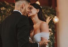 Ivana Yturbe compartió las primeras fotografías de su boda con Beto da Silva