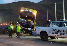 La Oroya: Sutran suspenderá y denunciará a empresa Lobato tras accidente