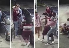 Cuatro jóvenes frustran asalto a punta de pistola en gasolinera