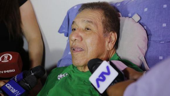El Gordo Casaretto atraviesa un delicado estado de salud. (Foto: El Comercio)