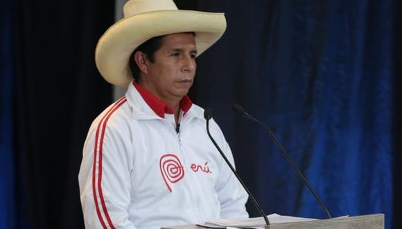 El candidato presidencial de Perú Libre, Pedro Castillo, se pronunció sobre el caso de las esterilizaciones forzadas durante el gobierno de Alberto Fujimori en el debate presidencial del JNE en Arequipa. (Foto: Hugo Pérez / @photo.gec)