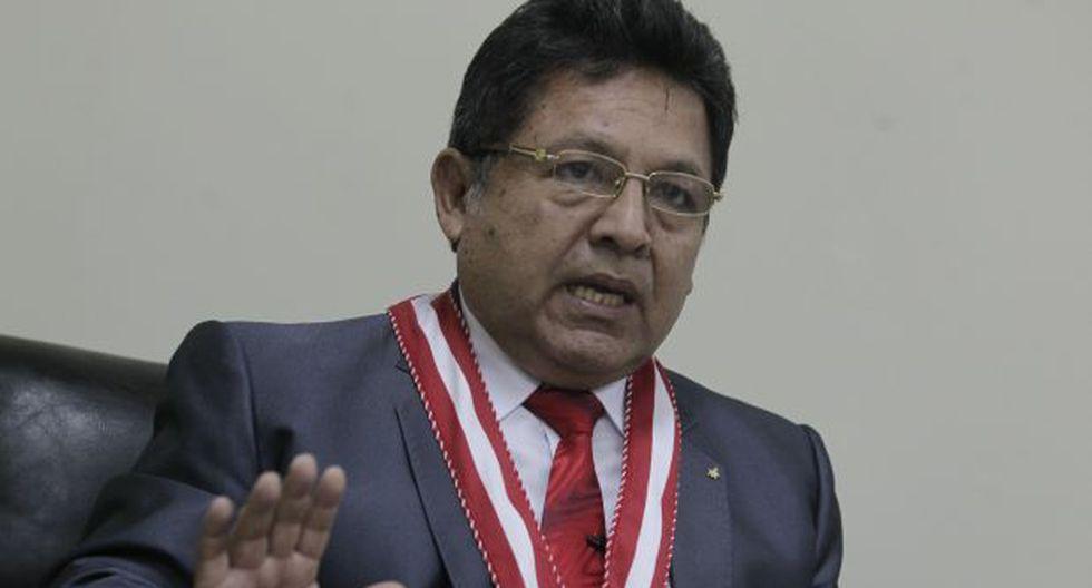 Carlos Ramos Heredia: la entrevista previa a su suspesión