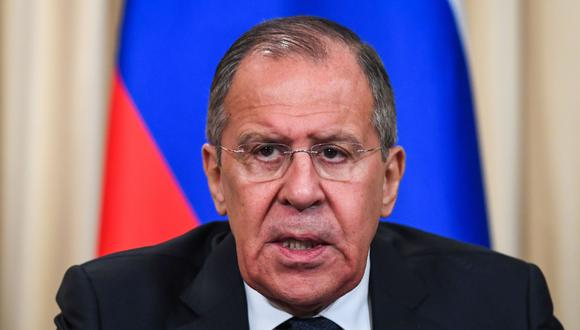 Rusia cree que Venezuela no podrá pagarle sus deudas y promete hacer todo lo posible para ayudar a Nicolás Maduro. En la imagen, el canciller ruso Sergei Lavrov. (AFP).