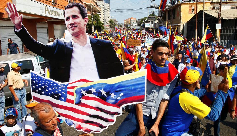 Venezuela: Juan Guaidó anuncia que el 23 de febrero ingresará la ayuda humanitaria de Estados Unidos a Venezuela   Cúcuta   Nicolás Maduro. (Reuters).