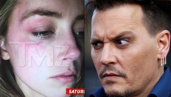 Amber Heard acusa a Johnny Depp de golpearla con un celular