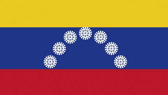 """""""Con los hospitales venezolanos afrontando una escasez crónica de medicamentos y suministros, y sufriendo por la migración masiva de médicos en los últimos años, Venezuela es uno de los países más vulnerables ante el virus"""". (Ilustración: Giovanni Tazza)"""