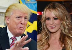 Donald Trump celebra el fin de investigación sobre pagos a Stormy Daniels