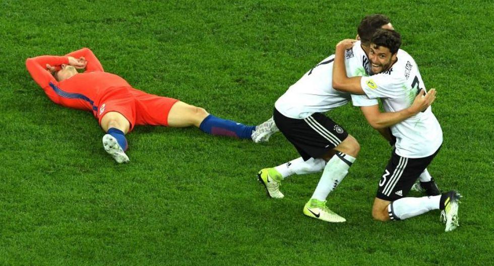 La selección alemana derrotó 1-0 a su similar de Chile y logró ganar la Copa Confederaciones Rusia 2017. (Foto: Reuters).