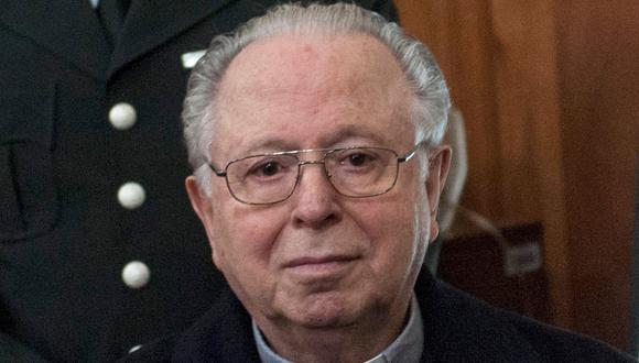 """Abusos sexuales en la Iglesia católica en Chile: corte ordena indemnizar por """"daños morales"""" a tres víctimas del ex sacerdote Fernando Karadima. (AFP)."""