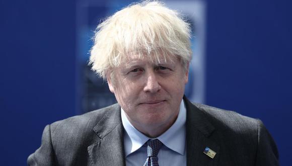 El primer ministro británico Boris Johnson.  (EFE/EPA/KENZO TRIBOUILLARD).