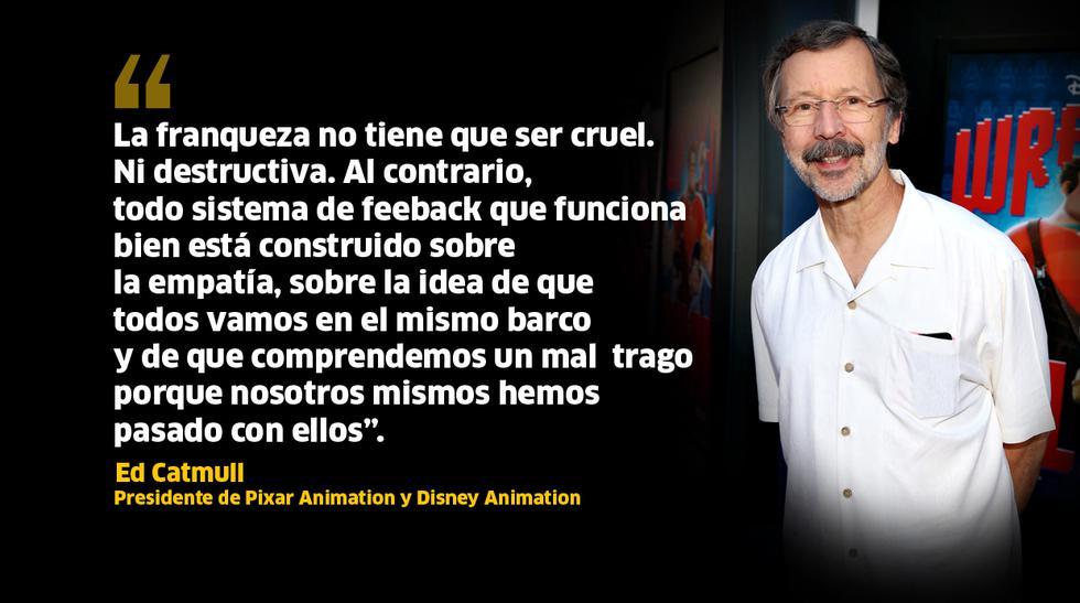La creatividad vista por el presidente de Pixar, Ed Catmull - 5