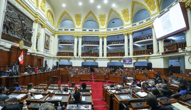 El pleno del Congreso será la instancia final que decida quiénes serán los próximos magistrados del TC. (Foto: Congreso)