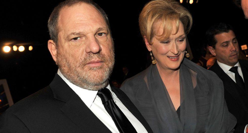 Golpean a Harvey Weinstein durante salida de restaurante